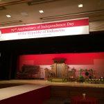 8/25 インドネシア大使館 独立記念日のレセプションパーティ